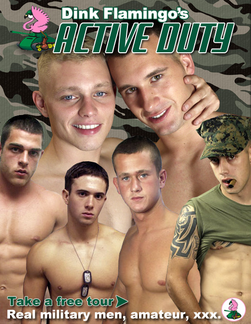 Hot Active Duty Military Studs!