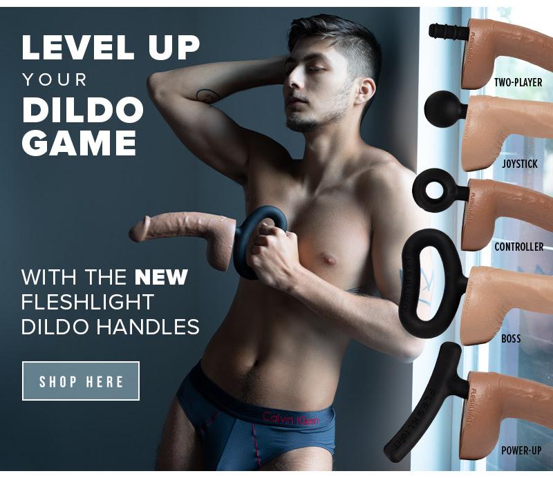 The new Fleshjack Dildo Handle