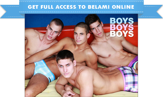 Get your exclusive membership to Bel Ami Online - the hottest boy models in hot gay action
