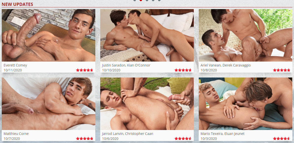Get your exclusive membership to Bel Ami Online - the hottest gay euro boys in action